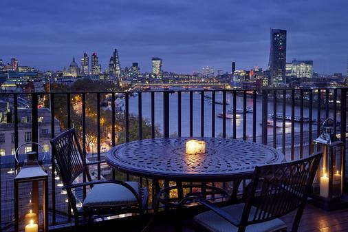 伦敦萨沃依饭店 - 伦敦 - 阳台