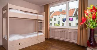 斯玛特斯登-慕尼黑城旅社 - 慕尼黑 - 睡房
