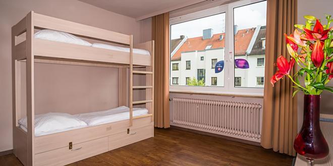 慕尼黑城斯玛特斯德旅社 - 慕尼黑 - 睡房