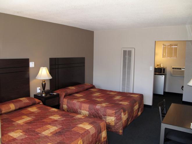 北亚利桑那大学经济型汽车旅馆/弗拉格斯塔夫市中心 - 弗拉格斯塔夫 - 睡房
