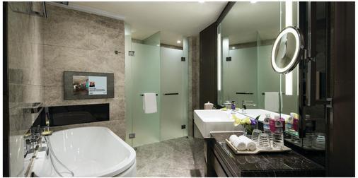 香港九龍東皇冠假日酒店 - 香港 - 浴室