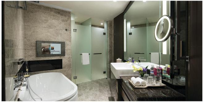 香港九龙东皇冠假日酒店 - 香港 - 浴室