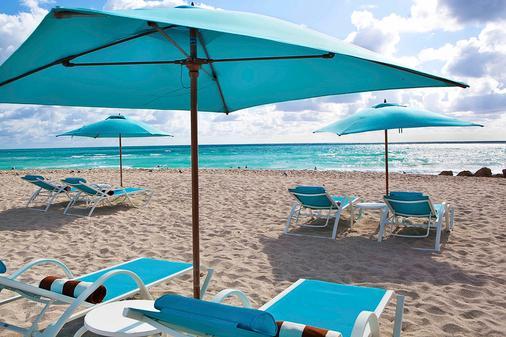 棕榈树Spa酒店 - 迈阿密海滩 - 海滩