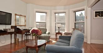 狮鹫之家酒店 - 波士顿 - 客厅