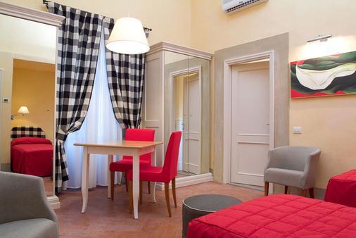 短笛住宅公寓酒店 - 佛罗伦萨 - 睡房