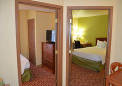 达拉斯普莱诺传统万豪唐普雷斯套房酒店 - 普莱诺 - 睡房