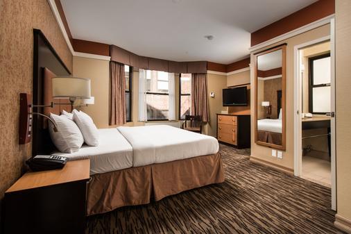 曼哈顿拉金塔旅馆及套房 - 纽约 - 睡房