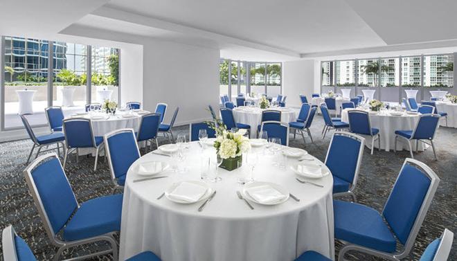 凯悦中心布里克尔-迈阿密酒店 - 迈阿密 - 宴会厅