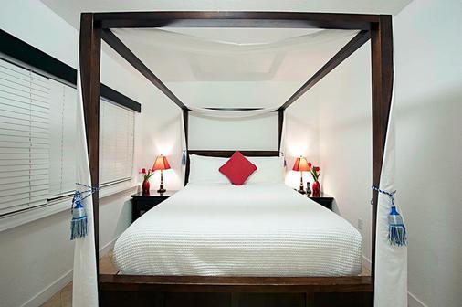 南海滩套房酒店 - 迈阿密海滩 - 睡房