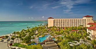 阿鲁巴凯悦度假村及娱乐场 - 棕榈滩 - 建筑