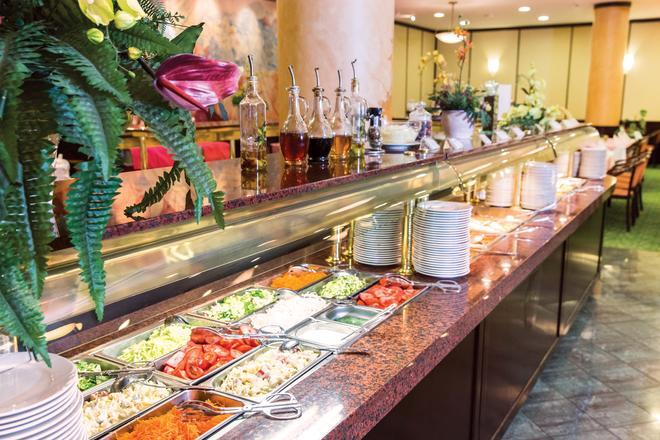 匈牙利城市中心酒店 - 布达佩斯 - 自助餐