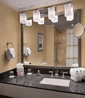 纽约市中心万豪酒店 - 纽约 - 浴室