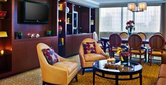 纽约市中心万豪酒店 - 纽约 - 客厅