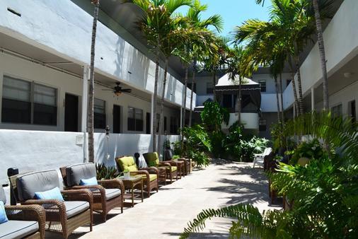 Hotel18 - 迈阿密海滩 - 露台