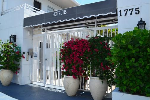 Hotel18 - 迈阿密海滩 - 户外景观