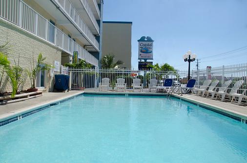 海岸棕榈树客栈及套房酒店 - 大洋城 - 游泳池