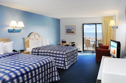 海岸棕榈树客栈及套房酒店 - 大洋城 - 睡房