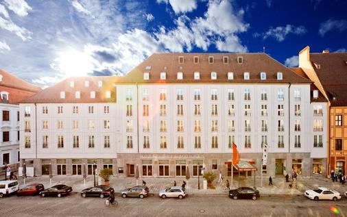 斯泰根贝格尔德雷伊莫伦酒店 - 奥格斯堡 - 建筑