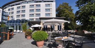 奥斯纳布吕克雷马克维也纳之家酒店 - 奥斯纳布吕克 - 露台
