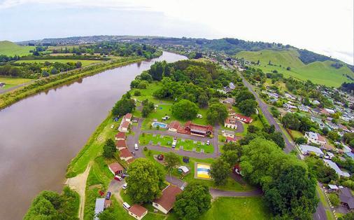 旺格努伊河十大假日公园酒店 - 旺阿努伊 - 户外景观