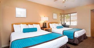 金银岛海洋俱乐部酒店 - 金银岛 - 睡房