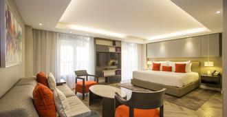 世贸中心旁伊萨亚精品酒店 - 墨西哥城 - 睡房