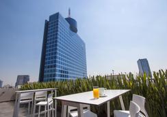 世贸中心旁伊萨亚精品酒店 - 墨西哥城 - 露天屋顶