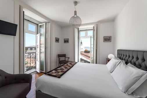 里贝拉特尤希尔都旅馆 - 里斯本 - 睡房