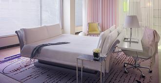 伦敦桑德森酒店 - 伦敦 - 睡房