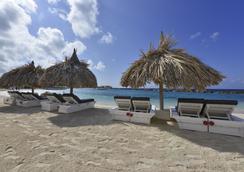 康提基海滩度假酒店 - 威廉斯塔德 - 海滩