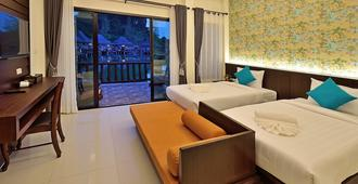 甲米庞斯利度假酒店 - 甲米 - 睡房