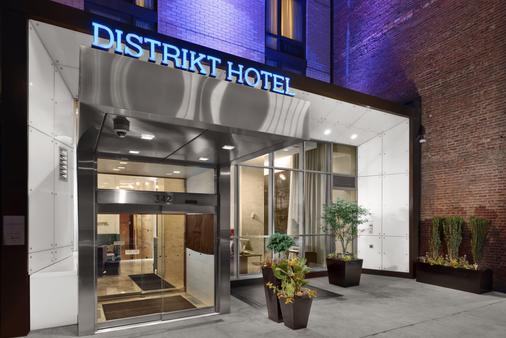 纽约市时代广场地区酒店 - 纽约 - 建筑