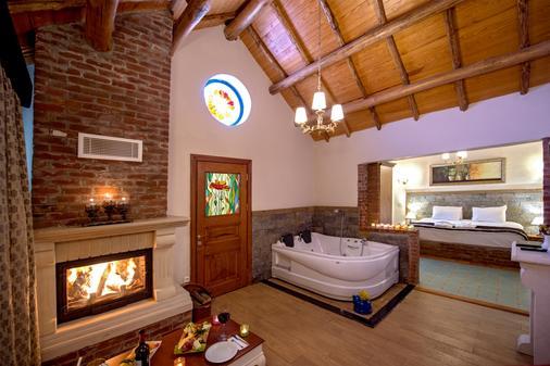 阿格瓦韦博特山林小屋酒店 - 赛尔 - 睡房