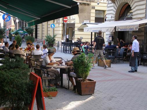 奥普拉酒店 - 布达佩斯 - 餐馆