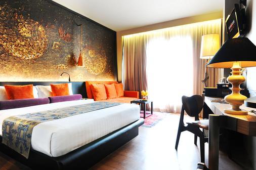 曼谷暹罗设计水疗酒店 - 曼谷 - 睡房