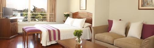 聂鲁达公寓式酒店 - 圣地亚哥 - 睡房