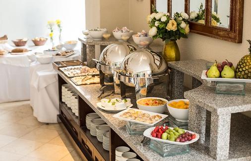 聂鲁达公寓式酒店 - 圣地亚哥 - 自助餐