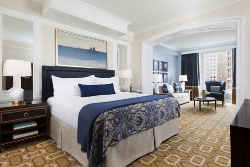 波士顿港酒店 - 波士顿 - 睡房