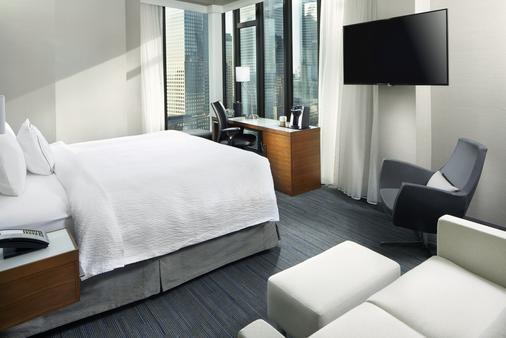 纽约曼哈顿下城/世界贸易中心区万怡酒店 - 纽约 - 睡房