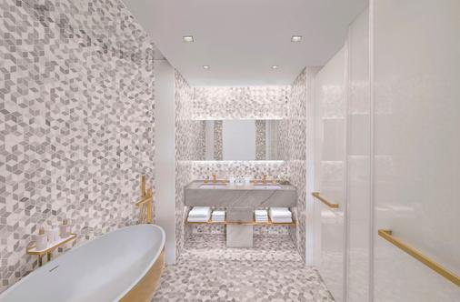 迪拜卓美亚棕榈岛五酒店 - 迪拜 - 浴室