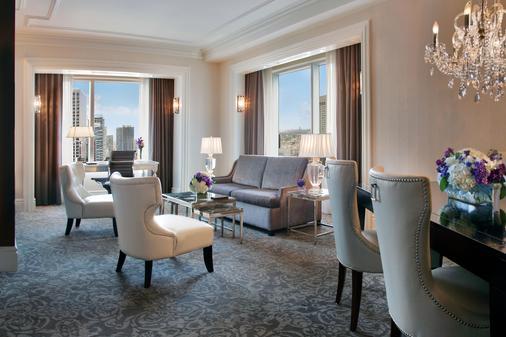 多伦多特朗普国际大厦酒店 - 多伦多 - 客厅
