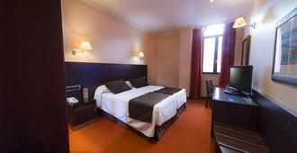 圣胡安德洛斯雷耶斯酒店 - 托莱多 - 睡房