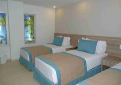 美洲波托韦洛广场酒店 - San Andrés - 睡房