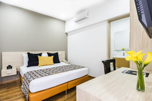 麦德林阿斯图里亚斯酒店 - Medellin - 睡房