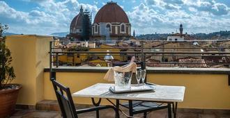 马基雅弗利宫酒店 - 佛罗伦萨 - 阳台