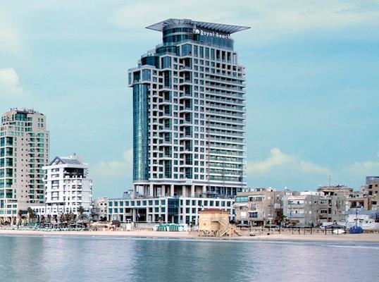 皇家海滩特拉维夫伊斯洛特酒店 - 特拉维夫 - 建筑