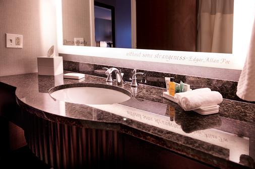 希尔顿巴尔的摩内港酒店 - 巴尔的摩 - 浴室
