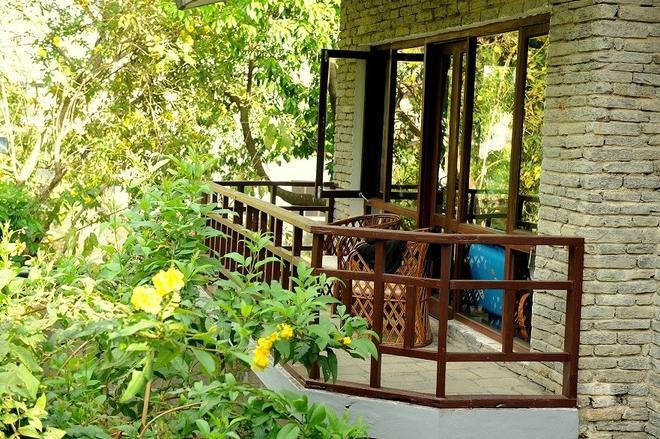 妈妈的花园度假村 - 博卡拉 - 阳台