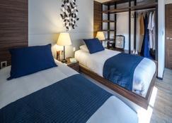世贸中心流畅公寓式酒店 - 墨西哥城 - 睡房