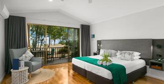 基瓦拉海滩温泉度假酒店 - 凯恩斯 - 睡房